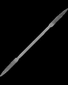 Fine riffler rasp - Three-square